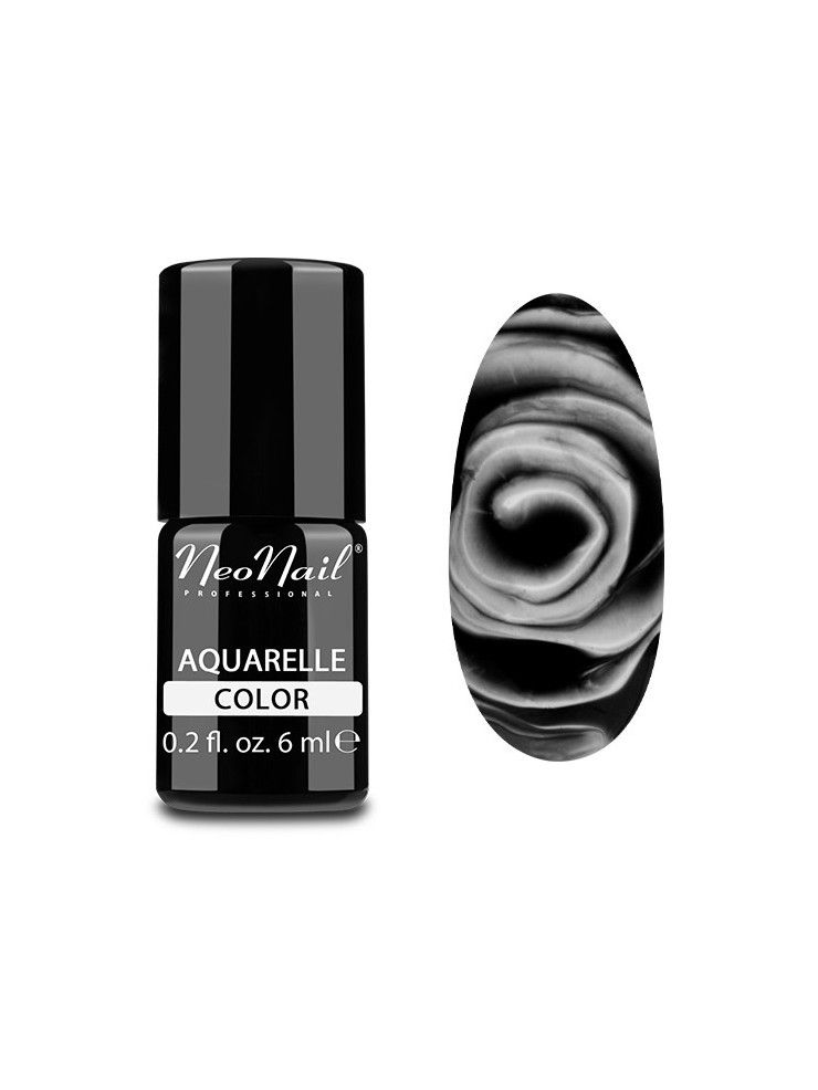 Black Aquarelle - UV Nagellack 6 ml